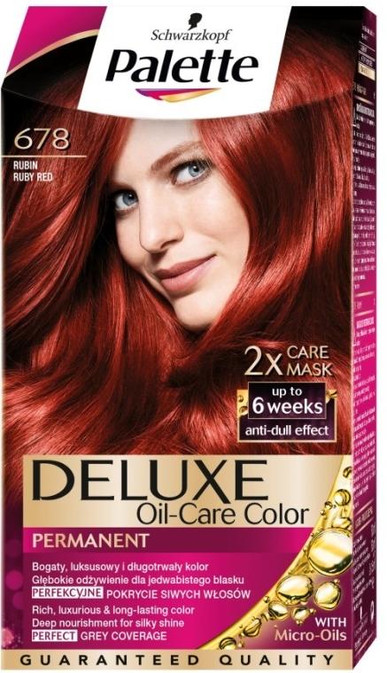 Farba na vlasy - Schwarzkopf Palette Deluxe