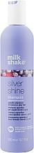 Voňavky, Parfémy, kozmetika Šampón pre blond vlasy - Milk_Shake Silver Shine Shampoo