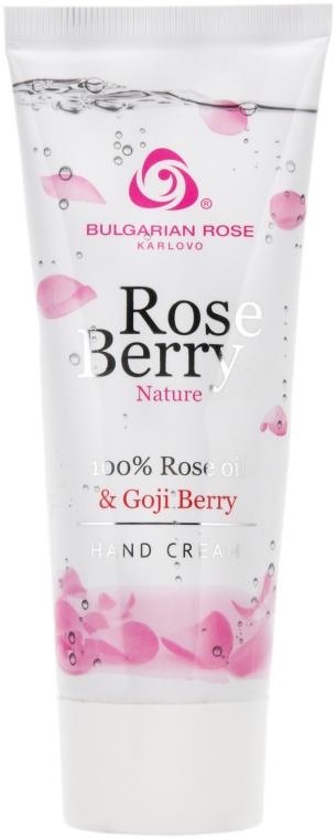 Krém na ruky - Bulgarian Rose Rose Berry Nature Hand Cream — Obrázky N1