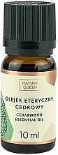 """Voňavky, Parfémy, kozmetika Esenciálny olej """"Cedrový"""" - Nature Queen Essential Oil Cedarwood"""