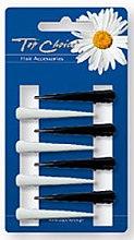 Voňavky, Parfémy, kozmetika Pukačky na vlasy malé 8 ks, čierne s bielym - Top Choice