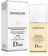 Voňavky, Parfémy, kozmetika Rozjasňujúca báza pod make-up - Dior Brightening Makeup Base Colour Correction SPF35 PA+++