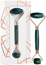 Voňavky, Parfémy, kozmetika Masážny valček na tvár - Crystallove Aventurine Roller