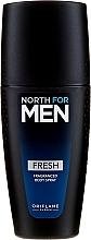 Voňavky, Parfémy, kozmetika Parfumovaný sprej na telo - Oriflame North for Men Fresh Fragranced Body Spray