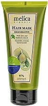 Voňavky, Parfémy, kozmetika Regeneračná maska na vlasy s lopúchovým a olivovým extraktom - Melica Organic Regenerative Hair Mask
