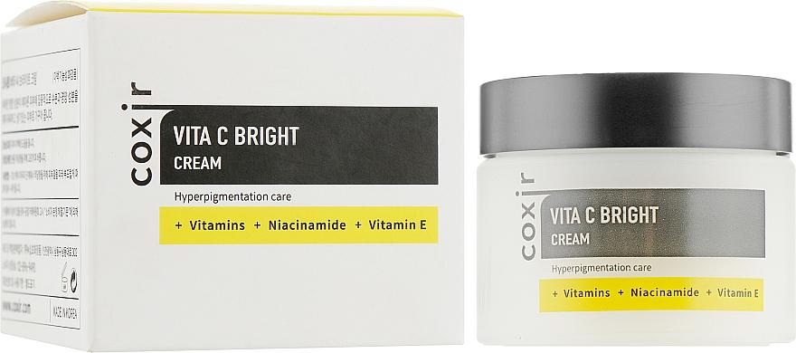 Krém na tvár s vitamínmi - Coxir Vita C Bright Cream
