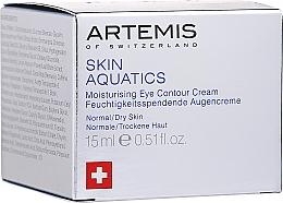 Voňavky, Parfémy, kozmetika Krém na kontúry očí - Artemis of Switzerland Skin Aquatics Moisturising Eye Contour Cream