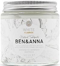 Voňavky, Parfémy, kozmetika Prírodná zubná pasta - Ben & Anna White Fluoride Toothpaste