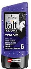 Gél na vlasy - Schwarzkopf Taft Looks Titan Look Extreme Gel Radically Strong — Obrázky N2