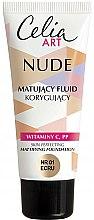 Voňavky, Parfémy, kozmetika Zmatňujúci make-up - Celia Nude Mattifying Foundation