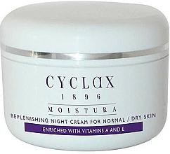 Voňavky, Parfémy, kozmetika Nočný hydratačný krém na tvár - Cyclax Moistura Replenishing Night Cream Normal / Dry Skin