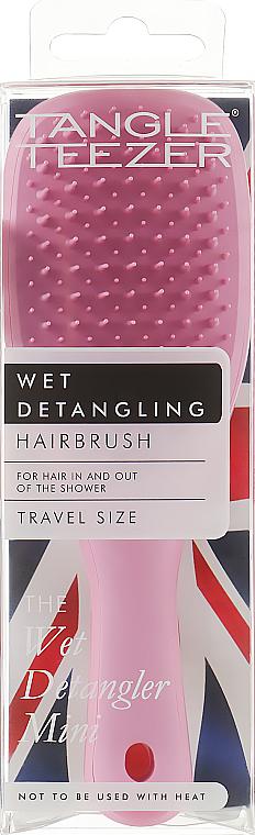 Kefa na vlasy - Tangle Teezer The Wet Detangler Mini Baby Pink Sparkle
