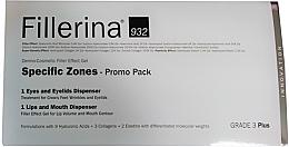 Voňavky, Parfémy, kozmetika Sada - Fillerina Grade 3+ (lips/gel/7ml + eye/gel/15ml)