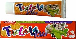 """Voňavky, Parfémy, kozmetika Zubná pasta """"Tropic"""" - Dental Tra-La-La Kids Tropical Fruit Toothpaste"""