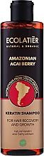 "Voňavky, Parfémy, kozmetika Šampón na vlasy s keratínom ""Amazonské bobule acai"" - Ecolatier Amazonian Acai Berry Shampoo"