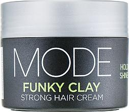 Voňavky, Parfémy, kozmetika Objemový krém so silnou fixáciou - Affinage Mode Funky Clay