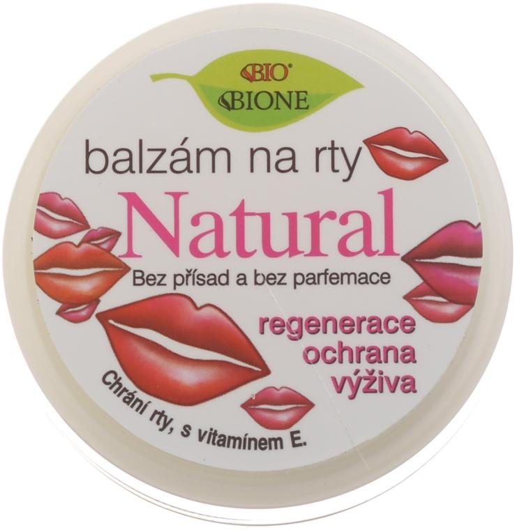 Prírodný balzam na pery - Bione Cosmetics Vitamin E