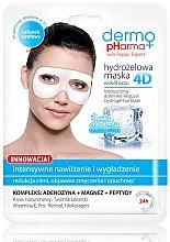 Voňavky, Parfémy, kozmetika Maska pre pleť okolo očí - Dermo Pharma 4D Moisturizing & Wrinkle Reduct Hydrogel Eye Mask