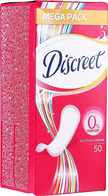 Každodenné hygienické vložky, intímky Normal, 50 ks - Discreet