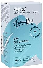Voňavky, Parfémy, kozmetika Intenzívny hydratačný gélový očný krém - Kili-g Hydrating Eye Gel Cream