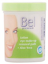 Voňavky, Parfémy, kozmetika Mokré kozmetické disky s aloe vera - Bel Premium Lotion Eye Make-Up Pads Aloe Vera