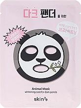 Voňavky, Parfémy, kozmetika Látková maska na tvár - Skin79 Animal Mask For Dark Panda