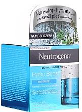 Voňavky, Parfémy, kozmetika Gél pre normálnu a kombinovanú pleť tváre - Neutrogena Hydro Boost Water Gel For Normal & Combination Skin