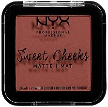 Voňavky, Parfémy, kozmetika Matná lícenka - NYX Professional Makeup Sweet Cheeks Matte Blush