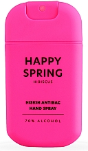 """Voňavky, Parfémy, kozmetika Dezinfekčný sprej na ruky """"Hibiscus"""" - HiSkin Antibac Hand Spray Happy Spring"""