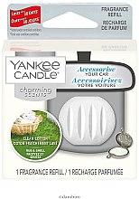 Voňavky, Parfémy, kozmetika Osviežovače vzduchu automobilový (výmenný blok) - Yankee Candle Charming Scents Refill Clean Cotton