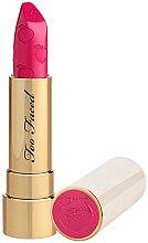 Voňavky, Parfémy, kozmetika Matný rúž na pery - Too Faced Peach Kiss Moisture Matte Long Wear Lipstick