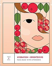 Voňavky, Parfémy, kozmetika Hydratačná rozjasňujúca pleťová maska - You & Oil Hydration & Brightening Face Mask With Liposomes