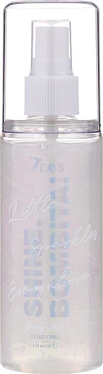 Sada - 7 Days Shine, Bombita! Light Pink (b/mist/135ml + b/milk/150ml) — Obrázky N3