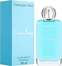 Voňavky, Parfémy, kozmetika Christopher Dark Dominikana Blue - Parfumovaná voda