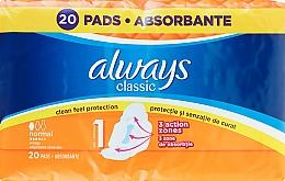 Voňavky, Parfémy, kozmetika Hygienické vložky, 20 ks - Always Classic Normal