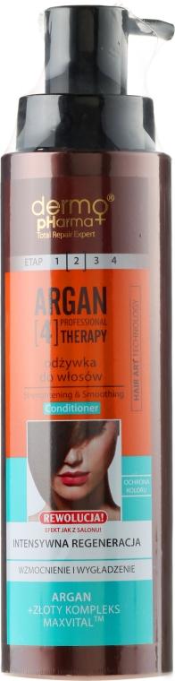 Kondicionér na vlasy - Dermo Pharma Argan Professional 4 Therapy Strengthening & Smoothing Conditioner