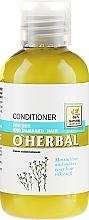 Voňavky, Parfémy, kozmetika Balzam-kondicionér na suché a matné vlasy s ľanovým extraktom - O'Herbal