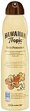 Voňavky, Parfémy, kozmetika Opaľovací telový sprej - Hawaiian Tropic Satin Protection Continous Spray Sunscreen Lotion SPF 30