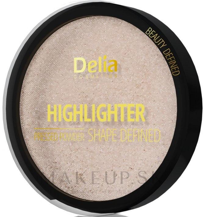 Rozjasňovač - Delia Highliter Shape Defined Pressed Powder — Obrázky 301