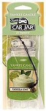 Voňavky, Parfémy, kozmetika Vôňa do auta - Yankee Candle Car Jar Vanilla Lime