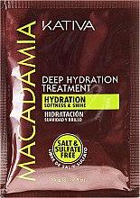 Voňavky, Parfémy, kozmetika Intenzívna hydratačná maska pre normálne a poškodené vlasy - Kativa Macadamia Deep Hydrating Treatment