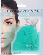 Voňavky, Parfémy, kozmetika Kolagénová maska so zeleným čajom a vitamínmi - Beauty Face Collagen Hydrogel Mask