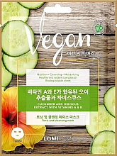 Voňavky, Parfémy, kozmetika Maska na tvár s uhorkou, ibištekom a extraktom vitamínov A a E. - Lomi Lomi Vegan Mask