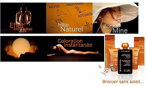 Tónovací gél na tvár - Academie Bronz'Express Gel — Obrázky N4