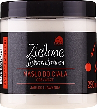 """Voňavky, Parfémy, kozmetika Výživné maslo na telo """"Jablko a levanduľa"""" - Zielone Laboratorium"""