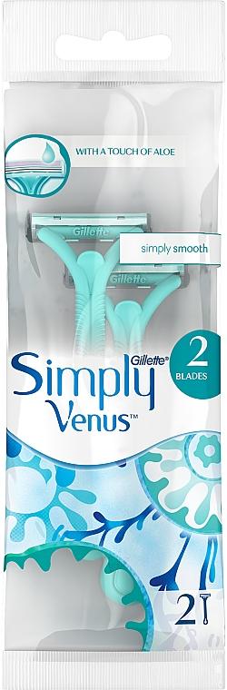 Jednorazové holiace strojčeky - Gillette Venus 2 Satin Care