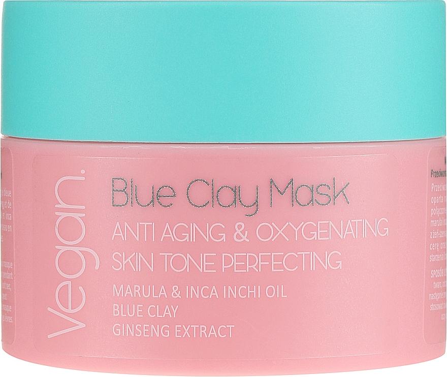Maska s modrou hlinou - Nacomi Blue Clay Mask Anti-Aging