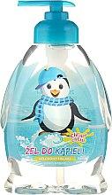 """Voňavky, Parfémy, kozmetika Detský sprchový gél """"Tučniak chlapec"""" - Chlapu Chlap Bath & Shower Gel"""