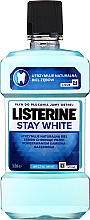 """Voňavky, Parfémy, kozmetika Ústna voda """"Biele zuby"""" - Listerine Stay White"""