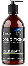 """Voňavky, Parfémy, kozmetika Kondicionér na vlasy so striebornými iónmi """"Bergamot a rebarbora"""" - HiSkin Bergamot & Rhubarb Conditioner"""